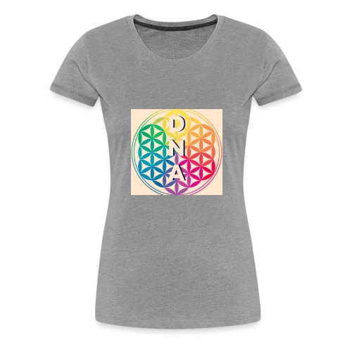 Flower of Life - DNA - Women's Premium T-Shirt