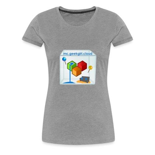 geekgirl.cloud logo - Women's Premium T-Shirt