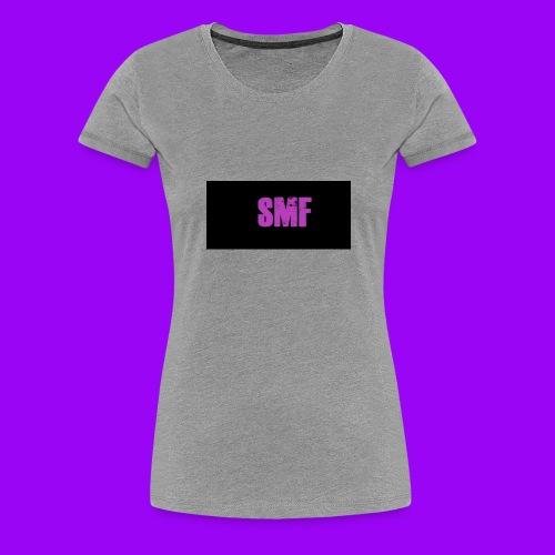 SMF purple muddy - Women's Premium T-Shirt