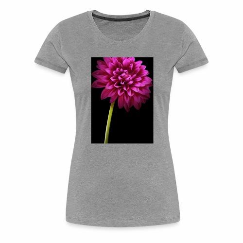 Pink Flower - Women's Premium T-Shirt