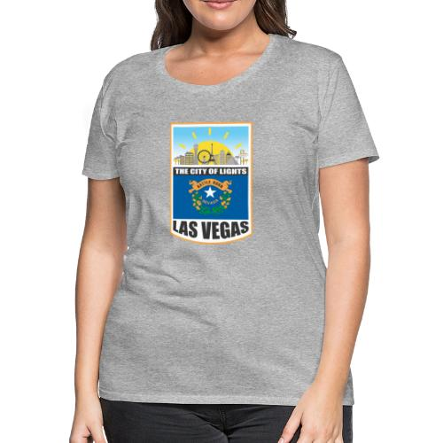 Las Vegas - Nevada - The city of light! - Women's Premium T-Shirt