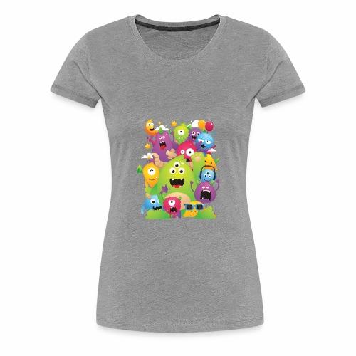 Monster Party - Women's Premium T-Shirt
