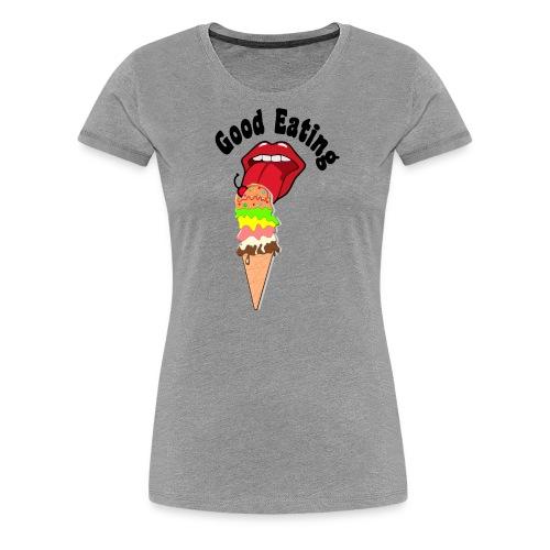 Good Eating ASMR - Women's Premium T-Shirt
