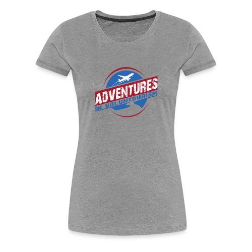 Adventures In Voluntourism - Women's Premium T-Shirt