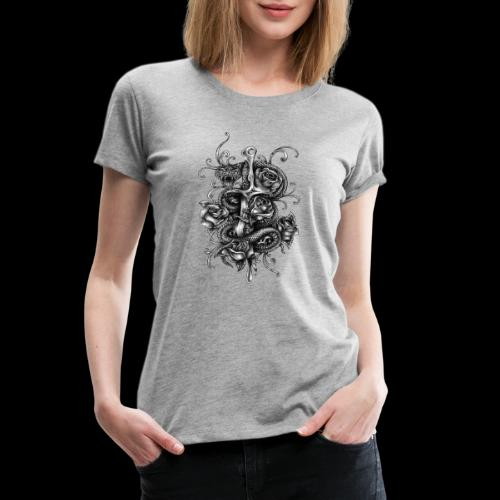 Dagger And Snake - Women's Premium T-Shirt