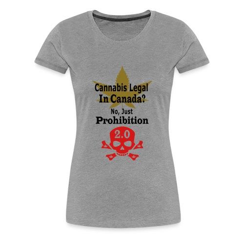 prohibition - Women's Premium T-Shirt