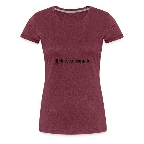 iyb leo squad logo - Women's Premium T-Shirt