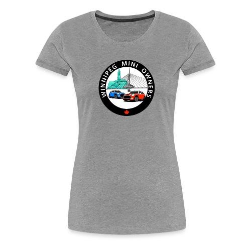 wpgminiownerslogo - Women's Premium T-Shirt