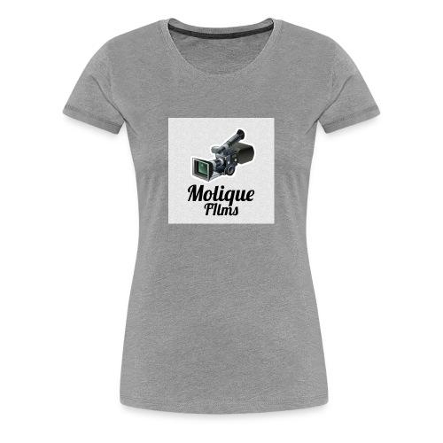 Molique Films Logo - Women's Premium T-Shirt