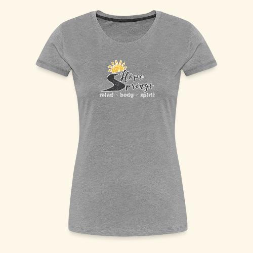 no bg hope springs - Women's Premium T-Shirt
