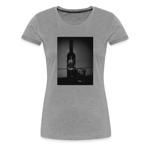 BLACK AND WHITE Grey Goose - Women's Premium T-Shirt