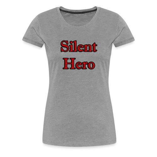 Silent hero - Women's Premium T-Shirt