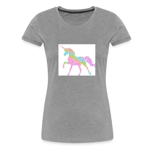 Cool Merch here by me it's unicorns - Women's Premium T-Shirt