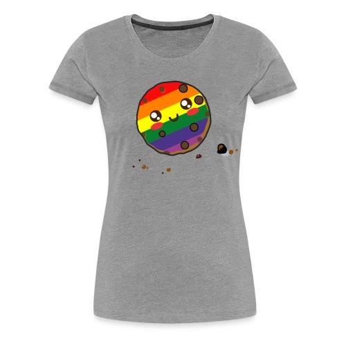 cookie lgbt - Women's Premium T-Shirt