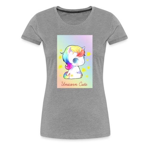 Unicorn Cute - Women's Premium T-Shirt