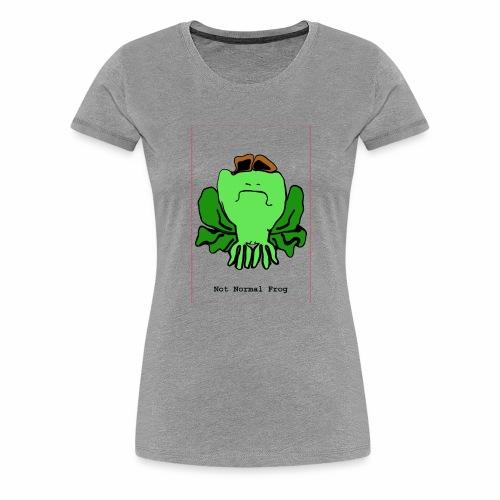 not normal frog - Women's Premium T-Shirt