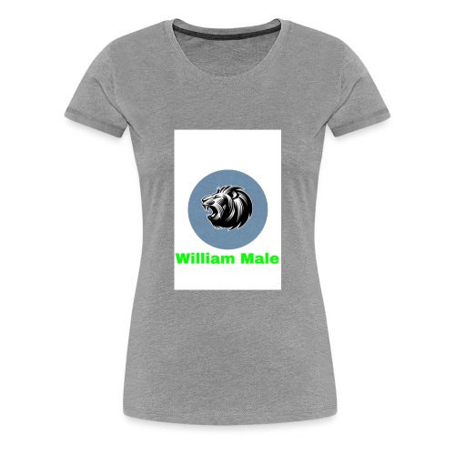 William Male - Women's Premium T-Shirt