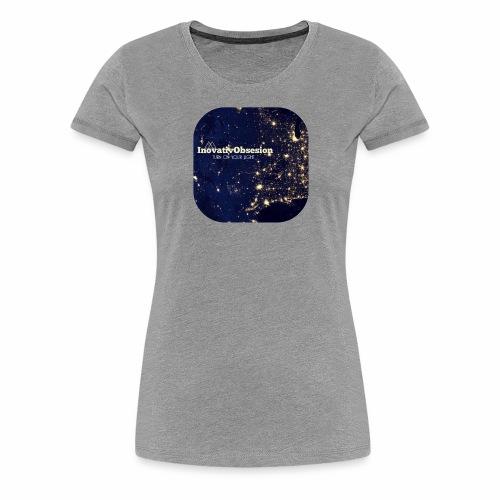"InovativObsesion ""TURN ON YOU LIGHT"" Apparel - Women's Premium T-Shirt"