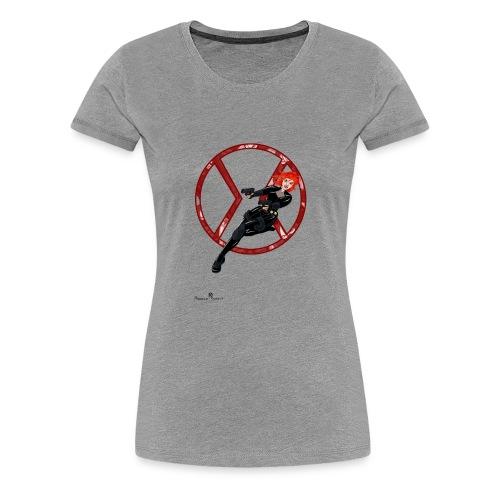 BULLETS AND BALLERINAS - Women's Premium T-Shirt