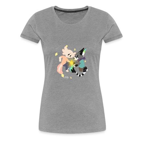 Coffee and Souchi - Women's Premium T-Shirt