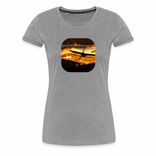 "InovativObsesion ""TAKE FLIGHT"" apparel - Women's Premium T-Shirt"