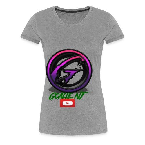 goalie nj logo - Women's Premium T-Shirt