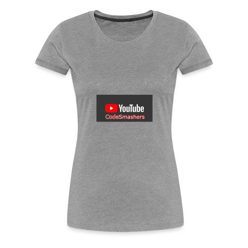YouTube - Women's Premium T-Shirt