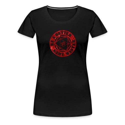BaBGM Logo (Red) - Women's Premium T-Shirt