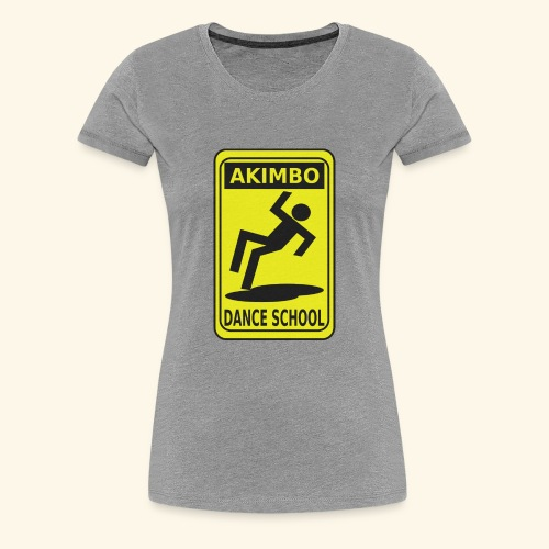 Akimbo Dance School - Women's Premium T-Shirt