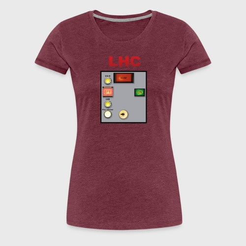 LHC Large Hadron Collider - Women's Premium T-Shirt