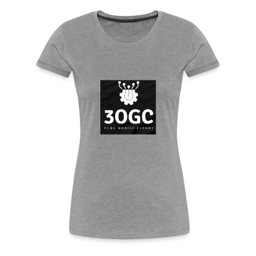 3OGC PUBG mobile - Women's Premium T-Shirt