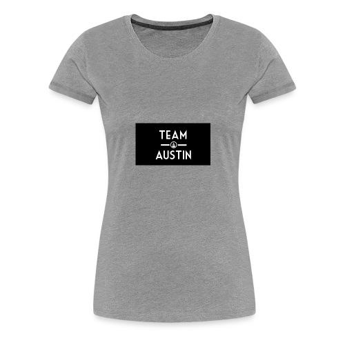 Team Austin Youtube Fan Base - Women's Premium T-Shirt