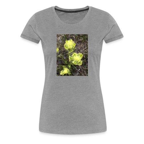 Rocky Mountain flowers - Women's Premium T-Shirt