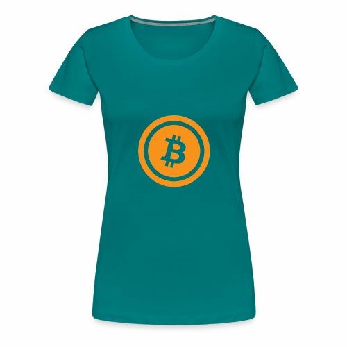 Bitcoin branding 45 - Women's Premium T-Shirt