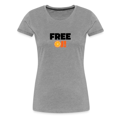 Free O.J. Simpson - Women's Premium T-Shirt