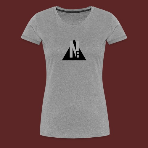 Basic NF Logo - Women's Premium T-Shirt