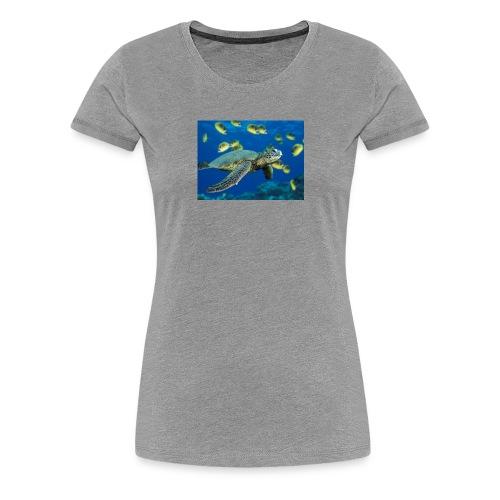 Green Sea Turtle - Women's Premium T-Shirt