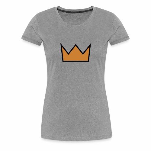 the crown - Women's Premium T-Shirt