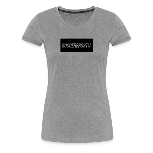 SoccerBrosTv - Women's Premium T-Shirt