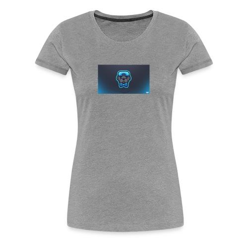 Pug icon - Women's Premium T-Shirt