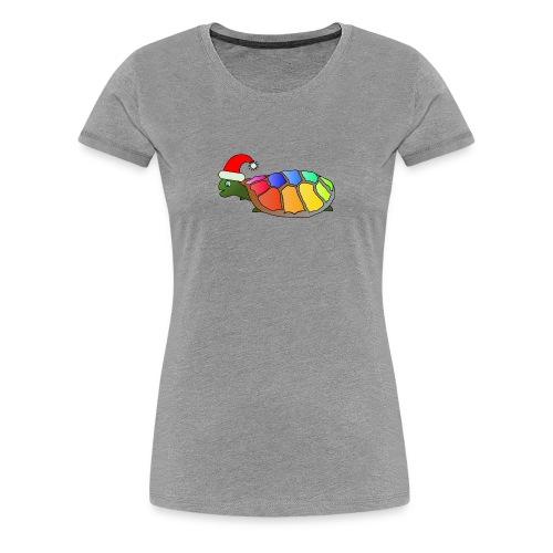 Rainbow Turtle - Women's Premium T-Shirt