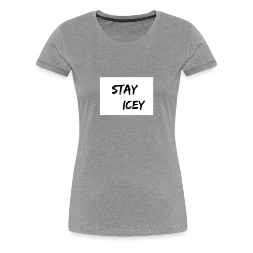 Stay Icey Merch - Women's Premium T-Shirt