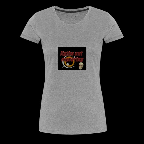 ligths out exploring - Women's Premium T-Shirt