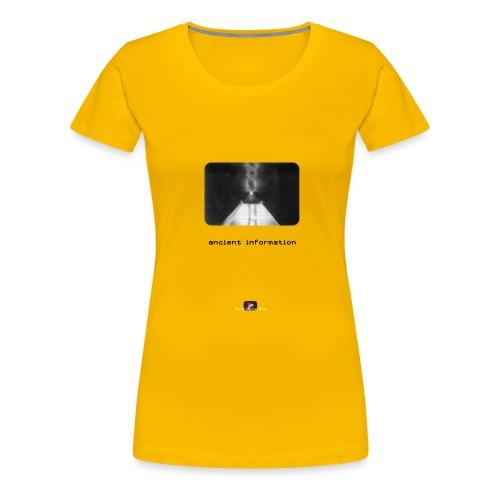 'Ancient Information' - Women's Premium T-Shirt