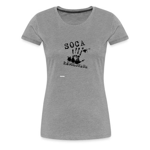 Soca Revolution - Women's Premium T-Shirt
