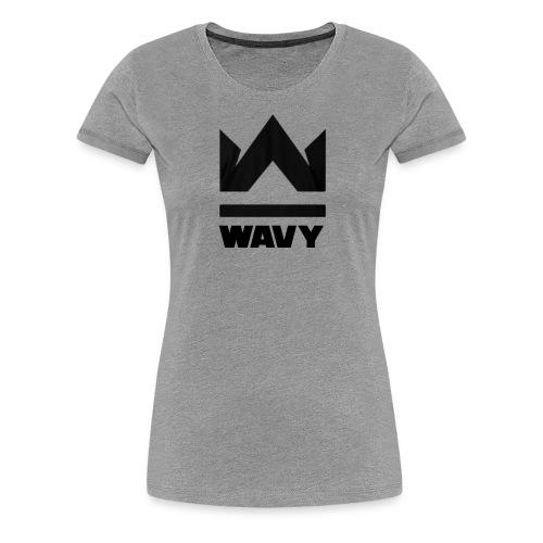Too Wavy - Women's Premium T-Shirt