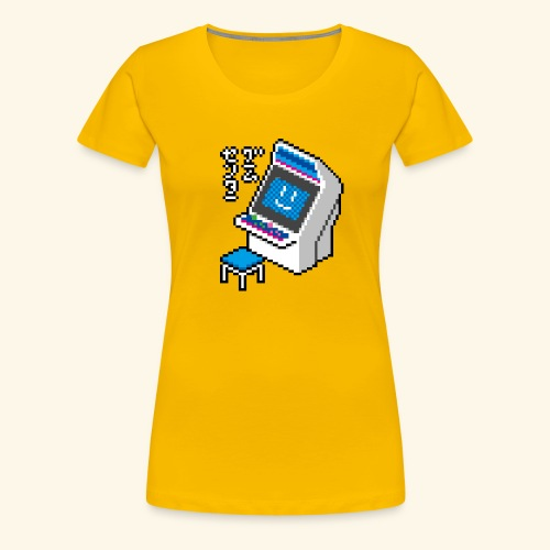 Pixelcandy_BC - Women's Premium T-Shirt