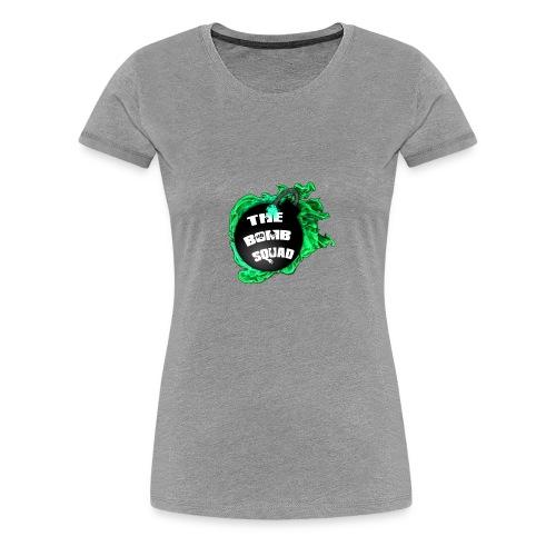 Green Bomb Squad - Women's Premium T-Shirt
