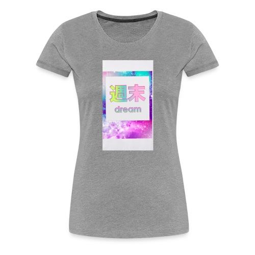 Dream logo - Women's Premium T-Shirt