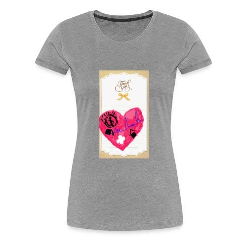 Heart of Economy 1 - Women's Premium T-Shirt